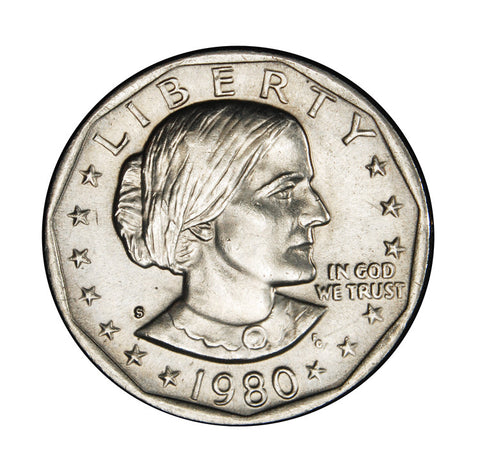 1980-S Susan B. Anthony Dollar