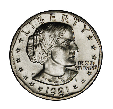 1981-D Susan B. Anthony Dollar