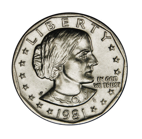 1981 Susan B. Anthony Dollar