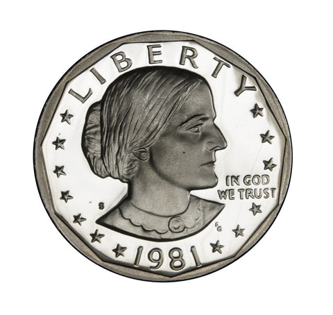 1981-S Type 1 Susan B. Anthony Dollar