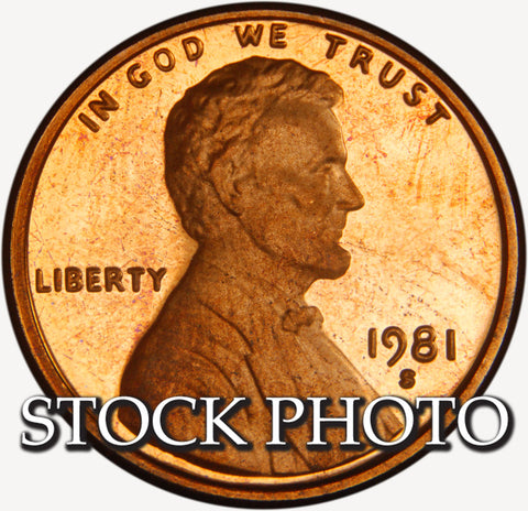 1981-S Type 1 Lincoln Cent