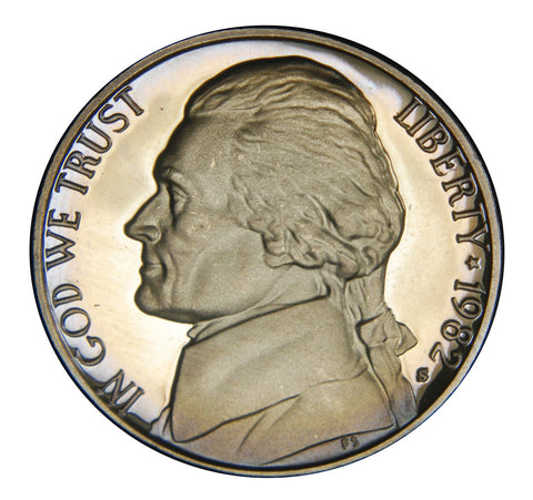 1982-S Jefferson Nickel