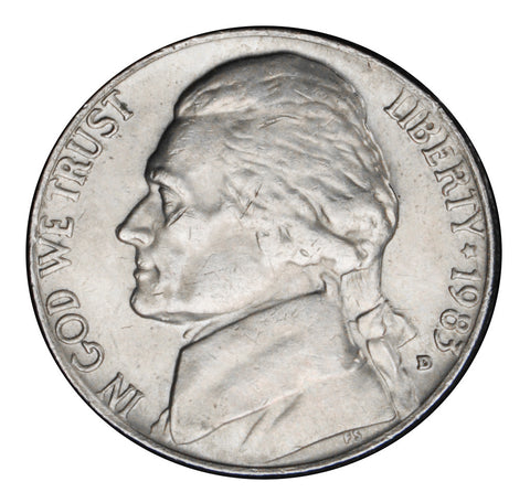 1983-D Jefferson Nickel . . . . Brilliant Uncirculated