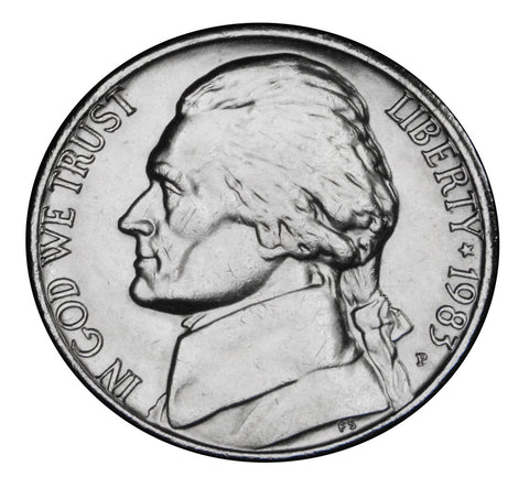 1983 Jefferson Nickel