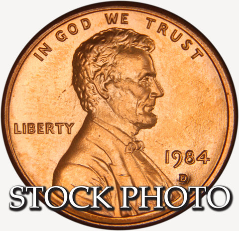 1984-D Lincoln Cent