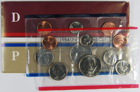 1984 Mint Set . . . . Choice Brilliant Uncirculated