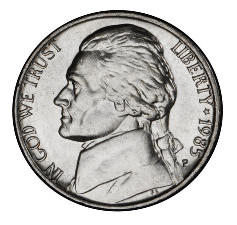1985 Jefferson Nickel