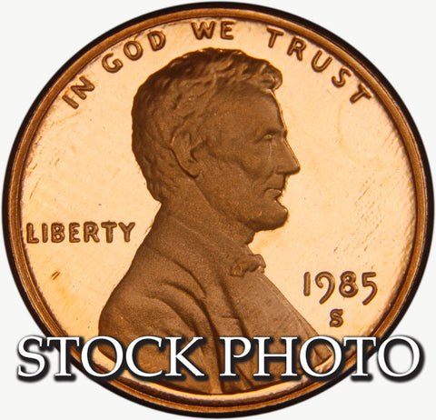 1985-S Lincoln Cent . . . . <br>Gem Brilliant Proof