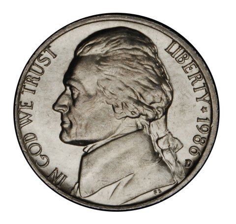 1986-D Jefferson Nickel