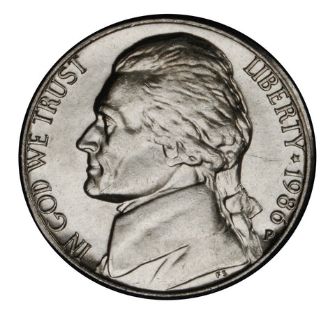 1986 Jefferson Nickel