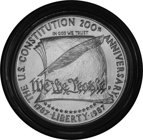 1987-S Constitution Silver Dollar