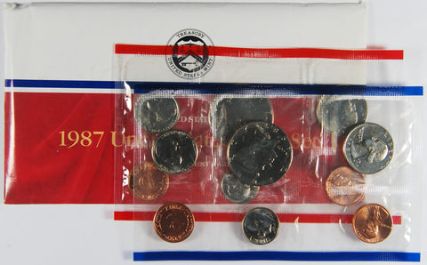 1987 Mint Set . . . . Choice Brilliant Uncirculated