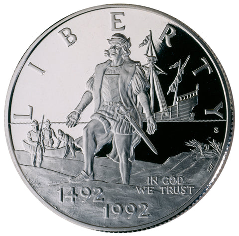 1992-S Columbus Commemorative Half