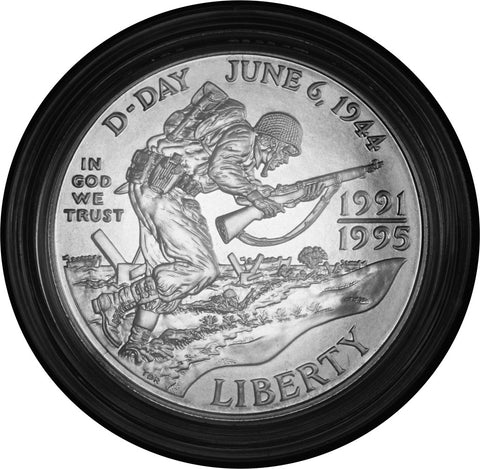 1993-D World War II Dollar