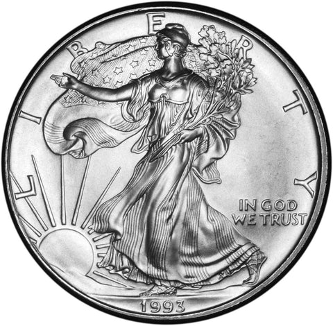 1993 Silver Eagle . . . . <br>Gem Brilliant Uncirculated