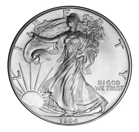 1994 Silver Eagle . . . . <br>Gem Brilliant Uncirculated