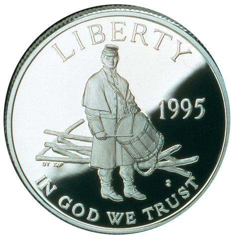 1995-S Civil War Half
