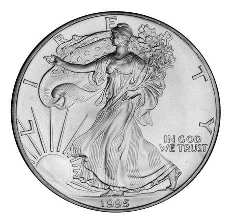 1995 Silver Eagle . . . . <br>Gem Brilliant Uncirculated