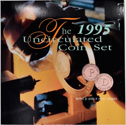 The 1995 Uncirculated Coin Set