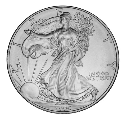 1996 Silver Eagle . . . . <br>Gem Brilliant Uncirculated