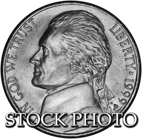 1999 Jefferson Nickel