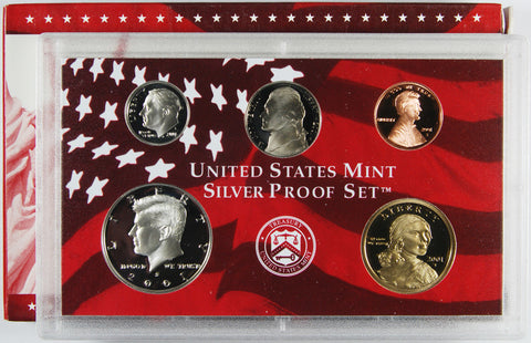 2001-S Silver Proof Set . . . . <br>Gem Brilliant Proof