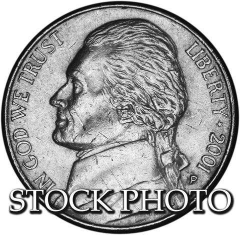 2001 Jefferson Nickel . . . . Brilliant Uncirculated