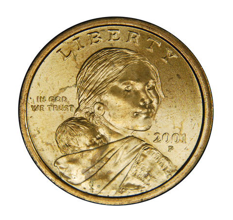 2001 Sacagawea Dollar . . . . Brilliant Uncirculated
