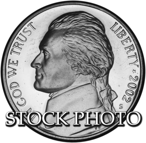 2002-S Jefferson Nickel