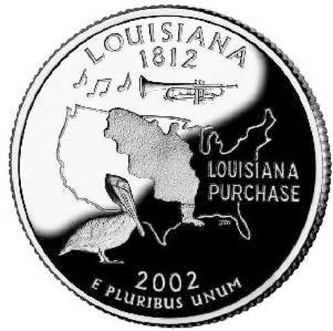 2002 Louisiana Quarters