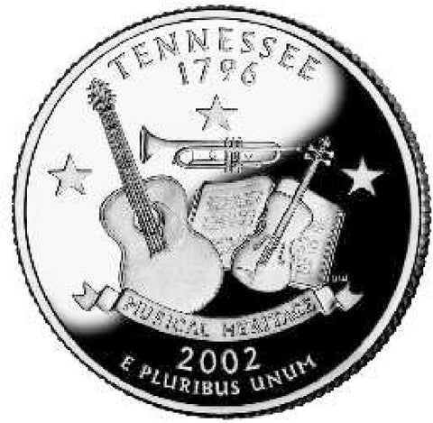 2002 Tennessee Quarters