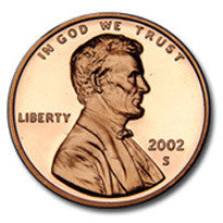 2002-S Lincoln Cent
