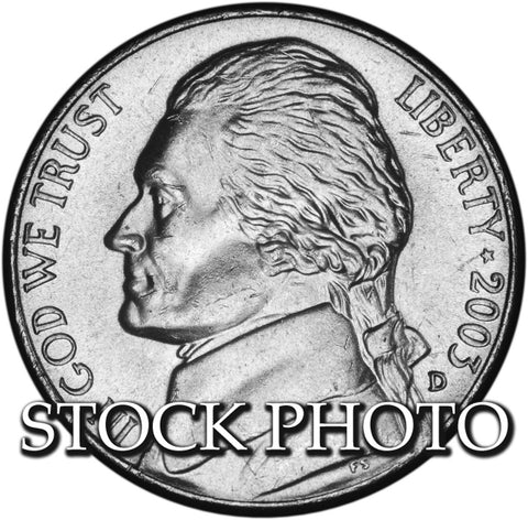 2003-D Jefferson Nickel