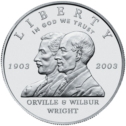 2003-P First Flight Centennial Silver Dollar
