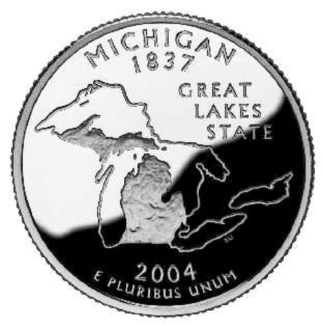 2004 Michigan Quarters