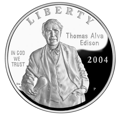 2004 Thomas Alva Edison Dollar
