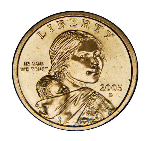 2005-D Sacagawea Dollar . . . . Brilliant Uncirculated