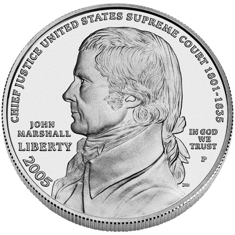 2005 Chief Justice Marshall Dollar
