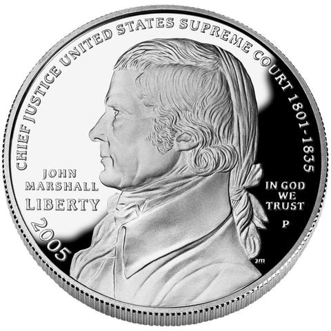 2005-P Chief Justice Marshall Silver Dollar