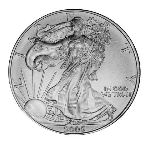 2005 Silver Eagle . . . . <br>Gem Brilliant Uncirculated