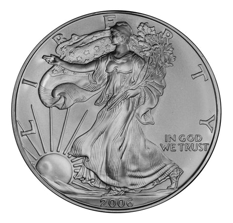 2006 Silver Eagle . . . . <br>Gem Brilliant Uncirculated