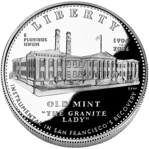 2006-S San Francisco Old Mint Silver Dollar