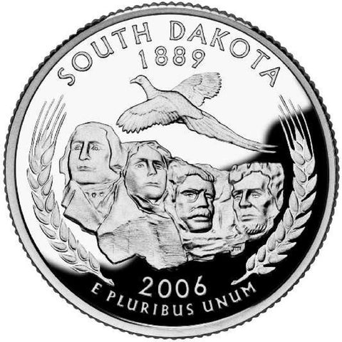 2006 South Dakota Quarters