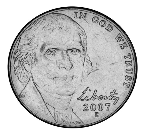 2007-D Jefferson Nickel