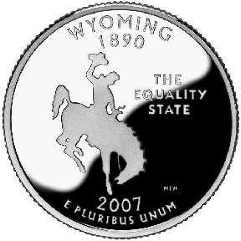2007-D Wyoming Statehood Quarter