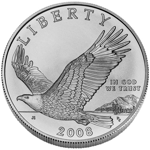 2008-P Bald Eagle Silver Dollar