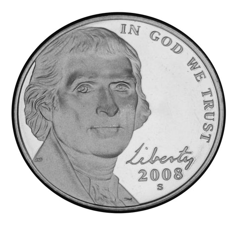 2008-S Jefferson Nickel