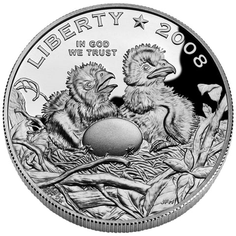 2008-S Bald Eagle Half <br>Gem Proof in capsule