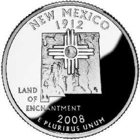 2008-D New Mexico Statehood Quarter