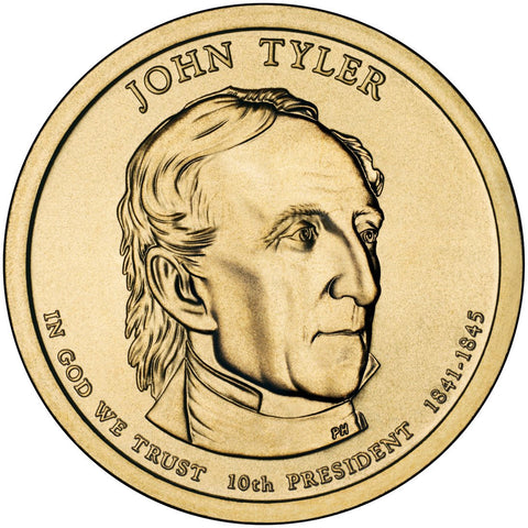 2009-P and D John Tyler Presidential Dollars